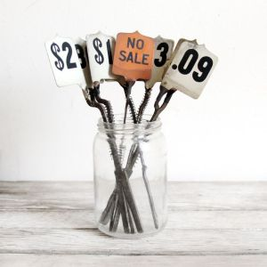 vintage price tags